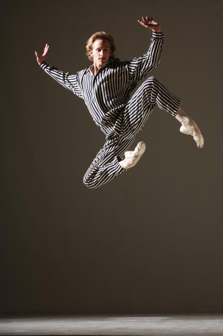 David Hallberg in Twyla Tharp's In the Upper Room