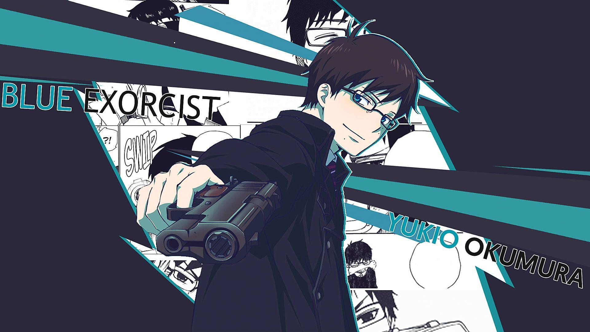 Blue Exorcist Okumura Yukio 1080p Wallpaper Hdwallpaper Desktop Blue Exorcist Blue Exorcist Characters Blue Anime