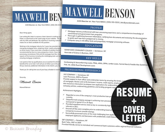 Designer Resume Template Instant Download by BusinessBranding - assistant designer resume