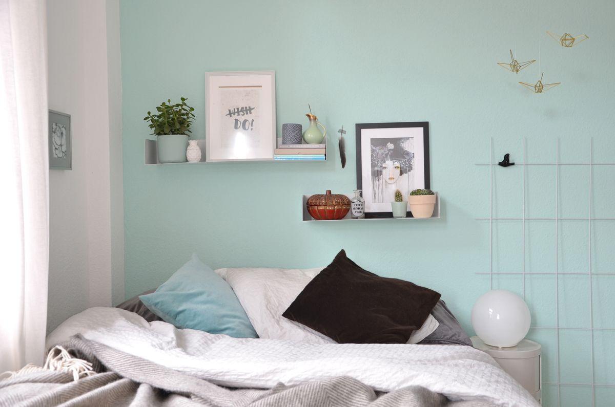 Schlafzimmer Mint ~ Wandgestaltung in mint anna ie g jpeg grafik