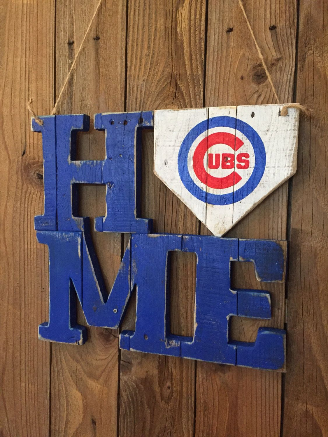 Pallet Chicago Cubs Sign World Series Champs 3d Handcut Pallet