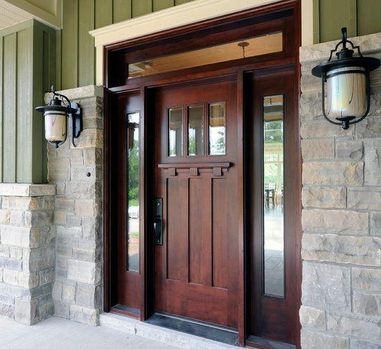 Chosing Fiberglass Entry Doors With Sidelights Doors Design