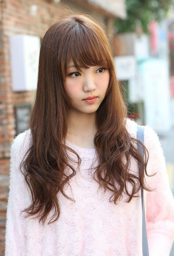 Korean Hairstyles 2013 Hairstyles Weekly Long Hair With Bangs Long Hair Styles Hair Styles
