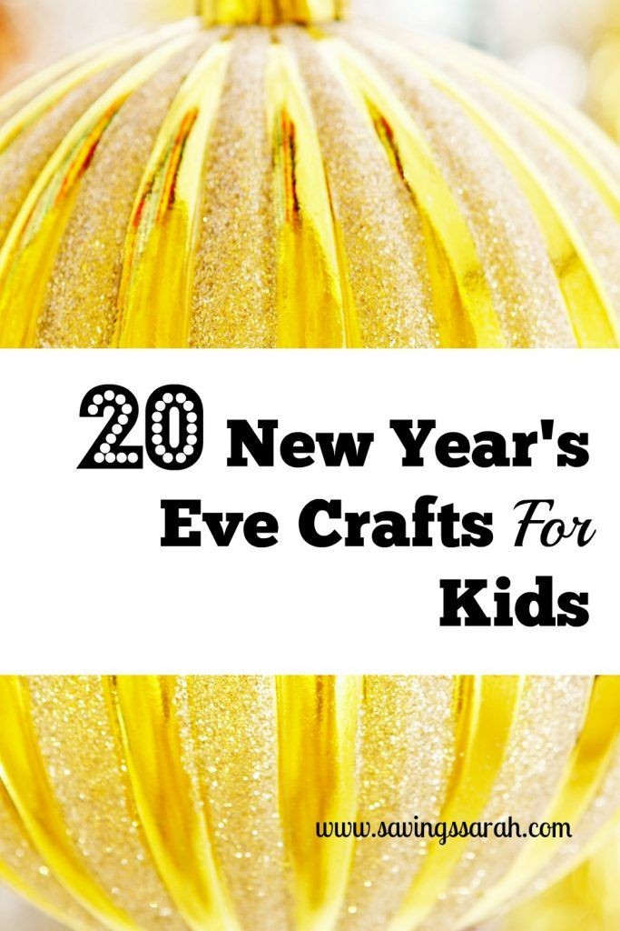 20 New Year's Eve Crafts For Kids - Earning and Saving with Sarah