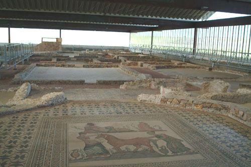 La Villa Romana de Almenara-Puras, uno de los yacimientos mejor conservados de la época