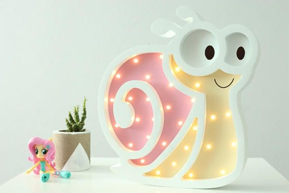Babyzimmer Nightlight ~ Night light for baby nightlight snail gift for baby kids Ночники