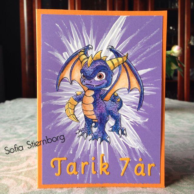 Skylanders birthday card to a 7 year old boy fdelsedagskort skylanders birthday card to a 7 year old boy fdelsedagskort kortmakeri birthdaycard bookmarktalkfo Choice Image