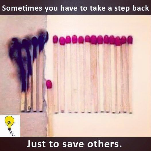 Sometimes You Have To Take A Step Back Just To Save Others Beselfless Notalwaysaboutyou Bethe Pictures With Deep Meaning Reality Quotes Meaningful Pictures