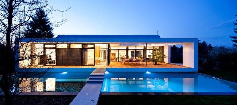 C1 House by Dettling Architekten Architecture, House