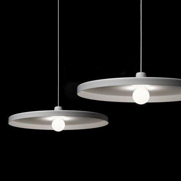 Minimalist Disk Pendant Light Pendant Light Light Small Pendant Lights