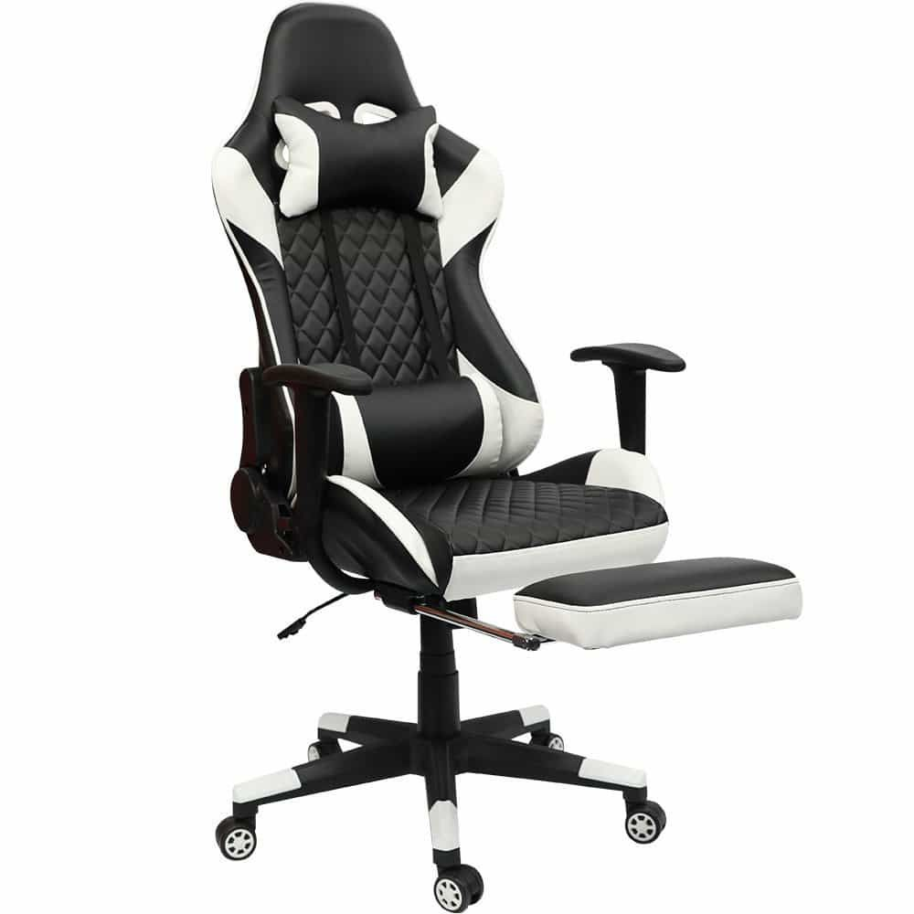 Top 10 Best Cheap Gaming Chairs Under 150 In 2021 Topreviewproducts Gaming Chair White Plastic Chairs Dining Room Chair Cushions