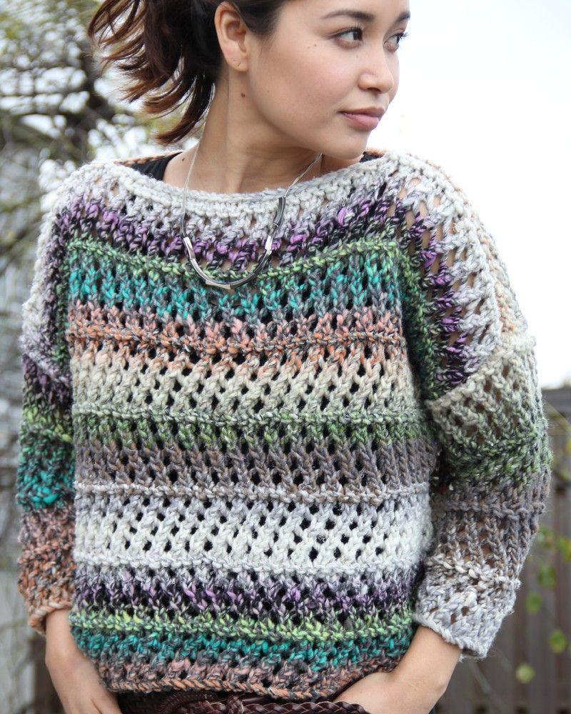 YS-630 | Lace Sweater | Crochet | Pinterest | Lace sweater, Crochet ...