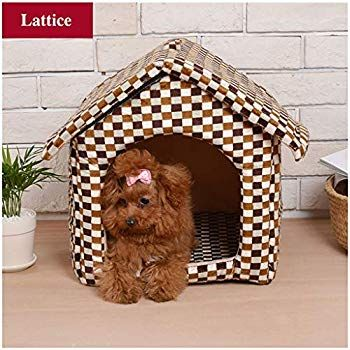 Napoo Warmest Pet House Bed For Small Breed Dog House Removable
