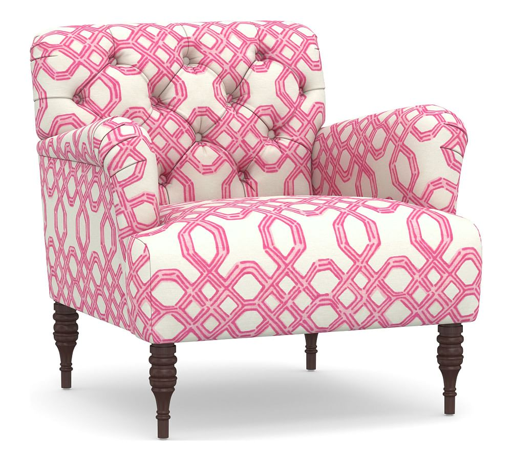 Madison Upholstered Armchair Polyester Wrapped Cushions