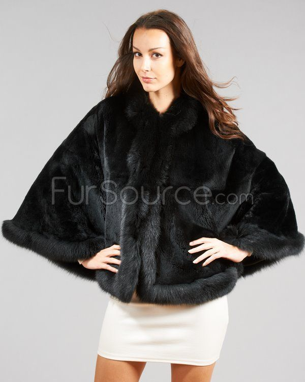 3ff71b658 Fur Wraps & Shawls | Fur Shawls & Stoles | Fur, Fox fur coat, Fur wrap