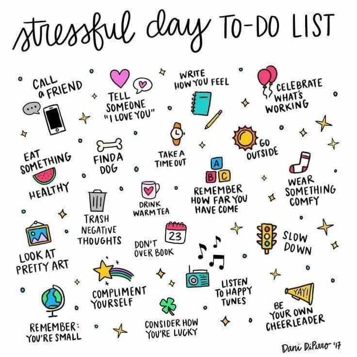 Ways to turn around a stressful day