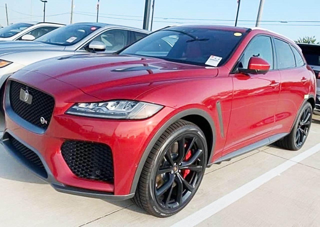 2020 Jaguar FPace SVR red in 2020 Jaguar, Sports car, Car