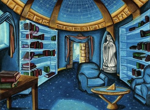 The Ravenclaw Common Room | A Little Bit of Everything | Pinterest ...