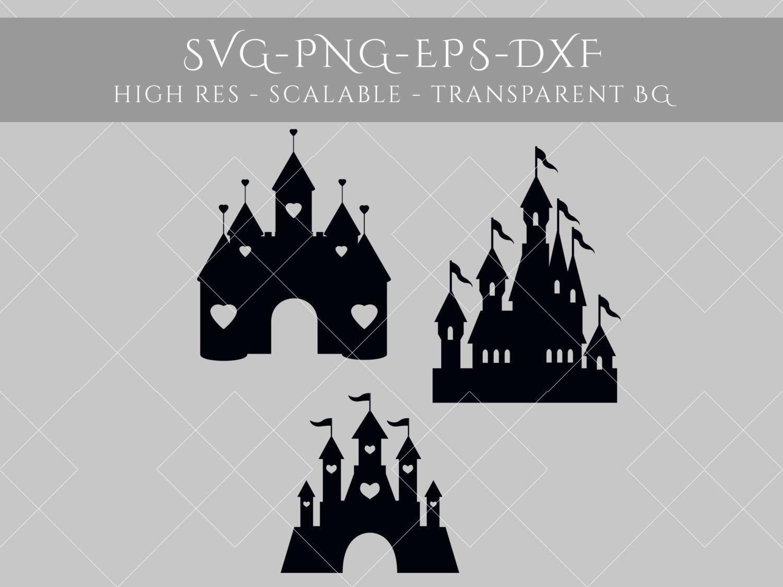 Download Castle Silhouette SVG File. Castle SVG File. Castle Decal ...