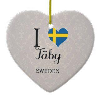 I Love Taby Sweden Gifts - I Love Taby Sweden Gift Ideas on Zazzle