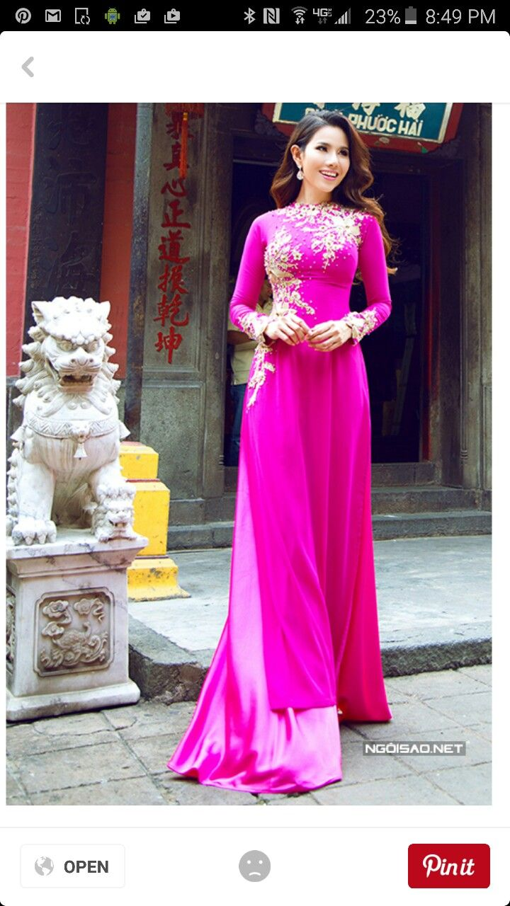 Pin de Stephanie Phan en Ao dai | Pinterest