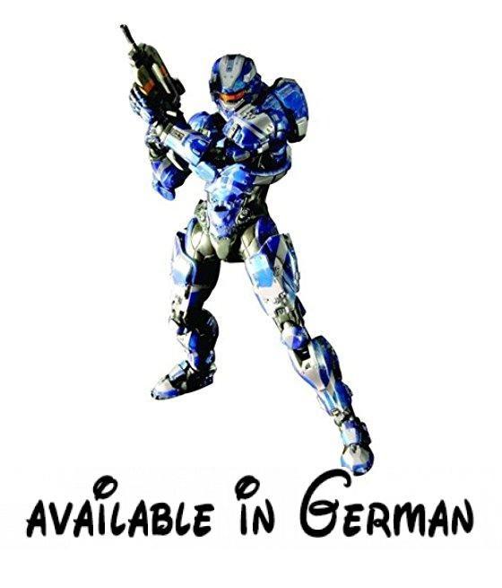 Halo 4Play Arts Kai Spartan Warrior Action Figur. Importiert aus Japan.. 91/10,2cm hoch. Mit einem größeren, mehr Aufmerksamkeit zum Detail. quare Enix Play Arts Figuren sind eine importierte Version Ihrer beliebten Play Arts Kai Actionfigur-Serie.. Fensterbox-Verpackung #Toy #SPORTING_GOODS