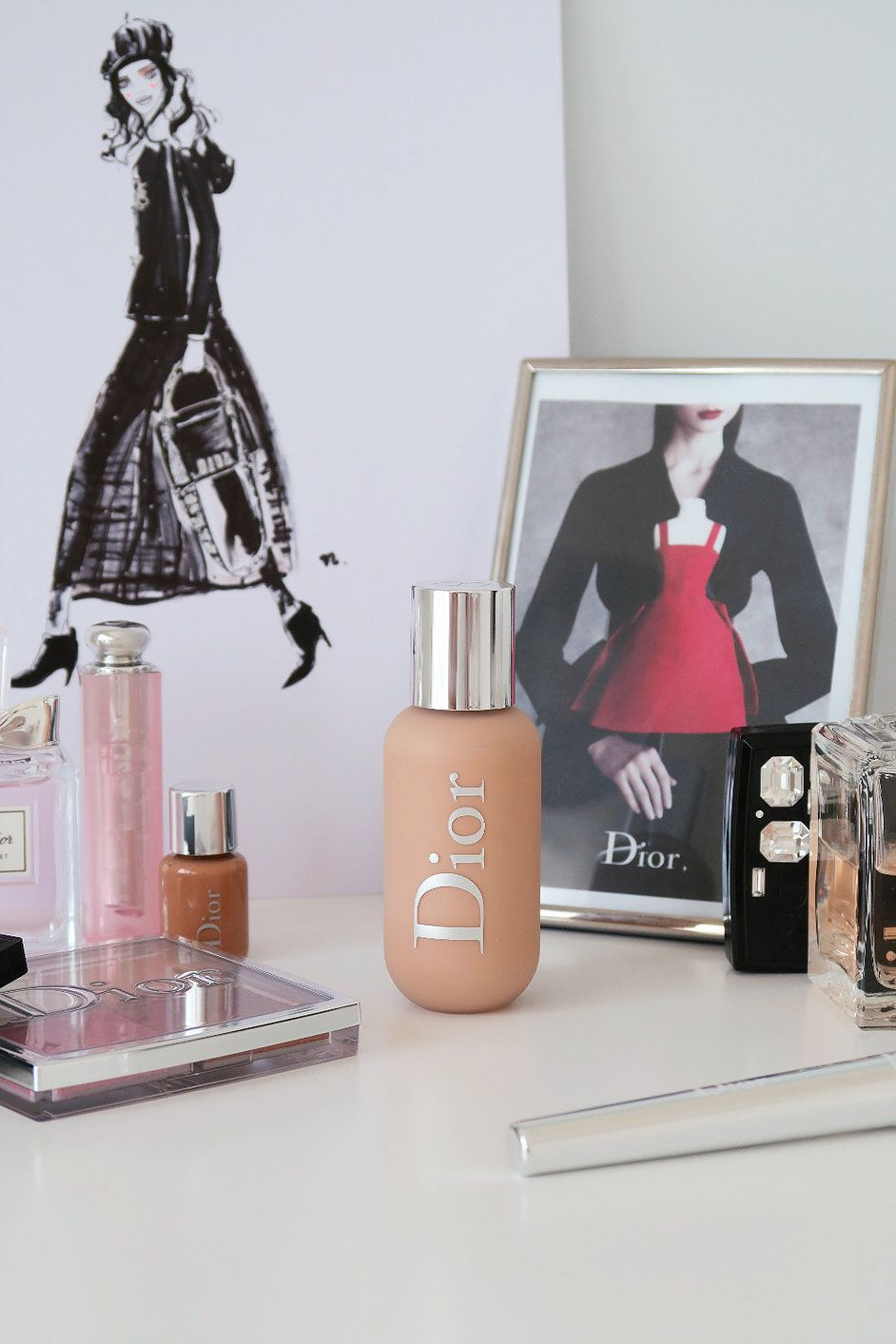 Dior Backstage Face & Body Foundation, Review   Body ...
