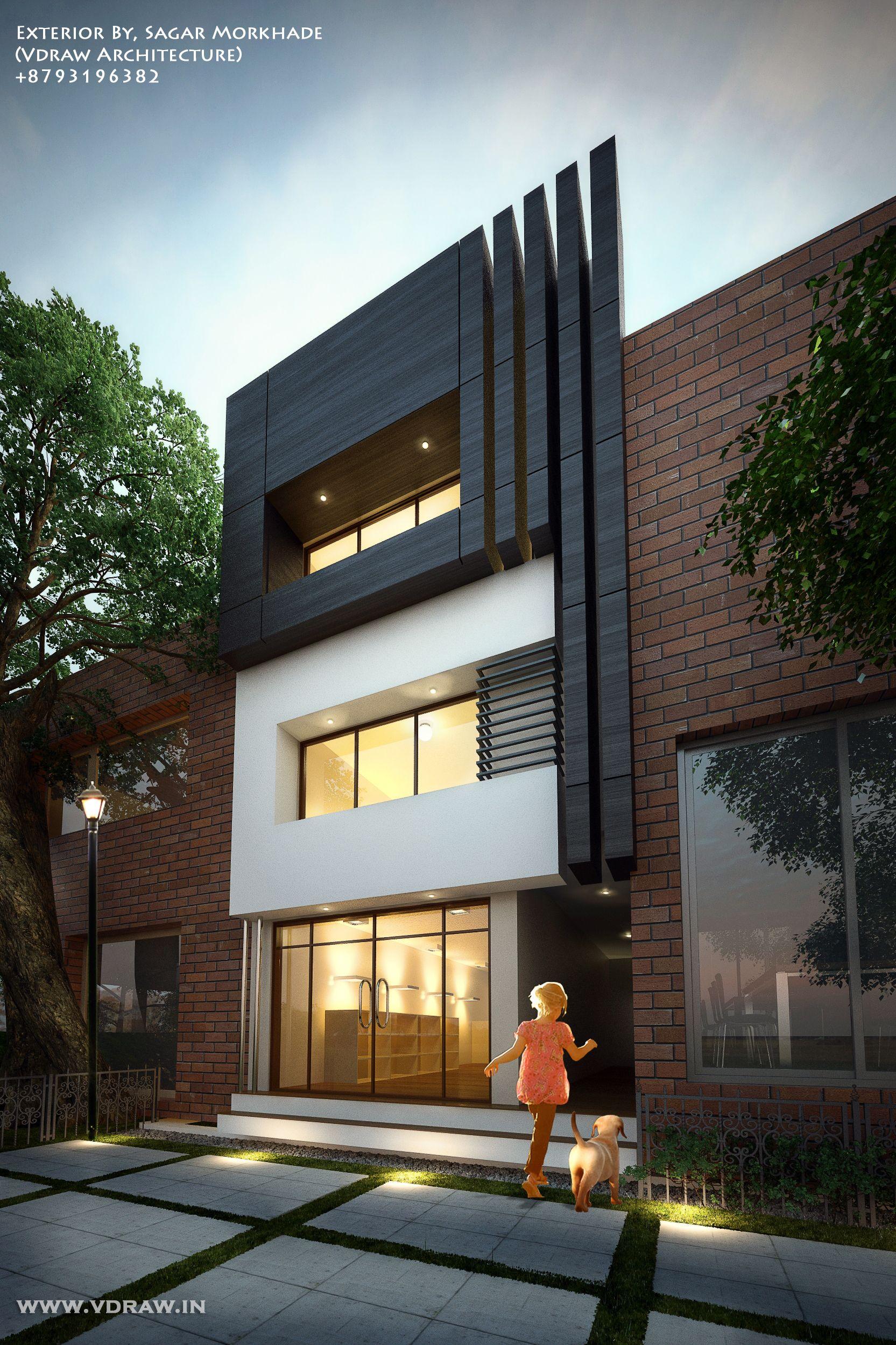Exterior By Sagar Morkhade Vdraw Architecture 8793196382: Exterior By, Sagar Morkhade (Vdraw Architecture) +8793196382