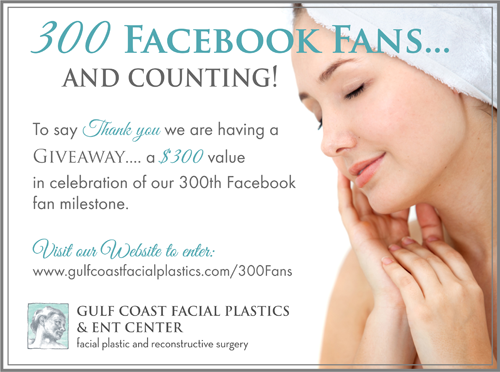 Gulf Coast Facial Plastics Ent Center Is Excited About Reaching A New Milestone We Have Reached 300 F Laser Skin Resurfacing Facial Plastic Skin Resurfacing