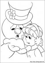 Frosty The Snowman Coloring Pages On Book