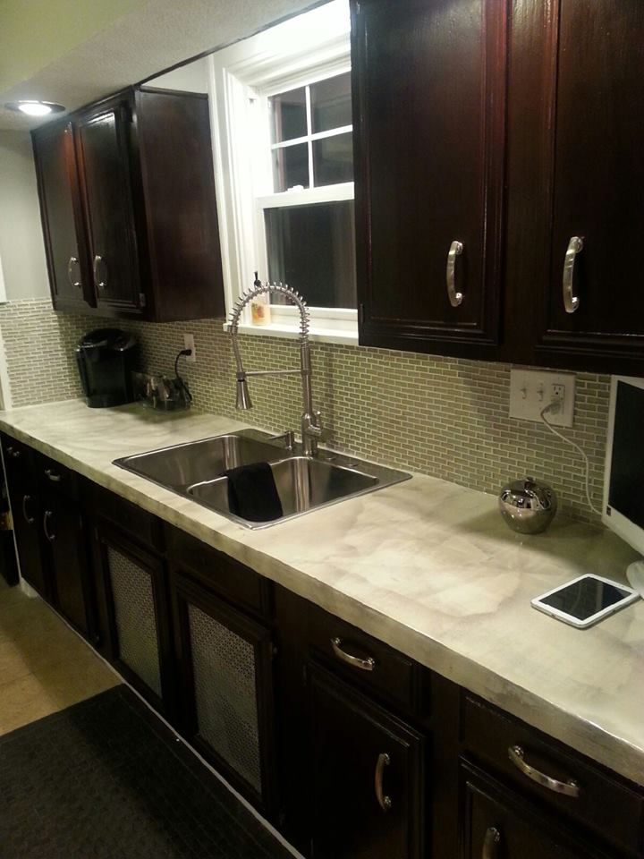 Step By Step Affordable Diy Kitchen Countertop Remodel Http