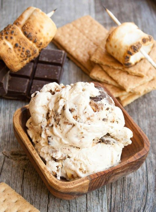 Ultimate S'mores Ice Cream - The Merchant Baker