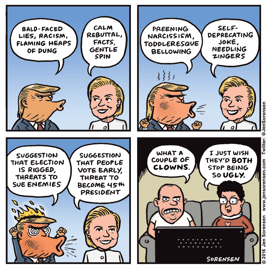 Debate Cheetos Are Bad For You: Political Satire & Cartoons