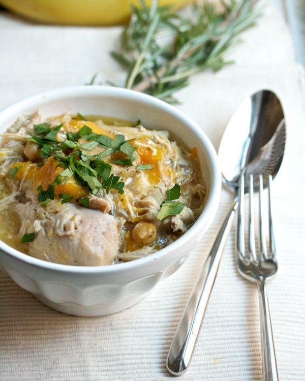 Provencal Chicken Stew With Butternut Squash & Chickpeas