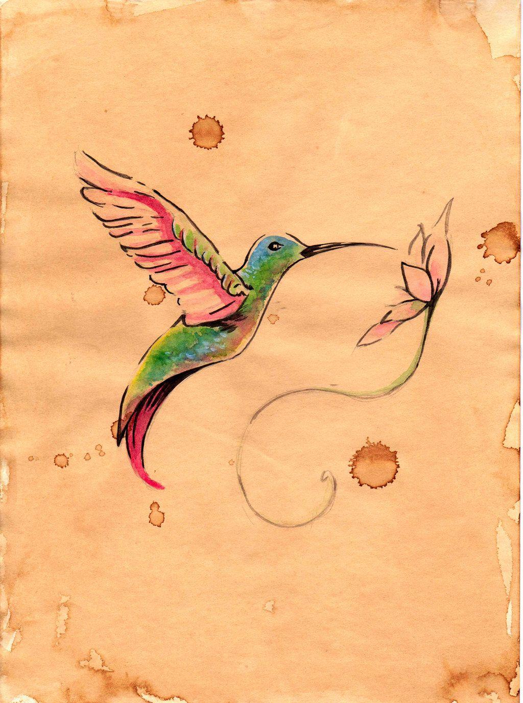 humming-bird by FannyCl.deviantart.com on @deviantART