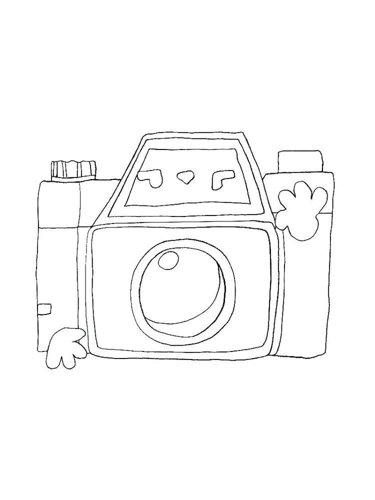 Coloring Pages Of A Camera Printable The Camera Is A Device Used In Photography Activities The Ca Coloring Pages Cool Coloring Pages Printable Coloring Pages
