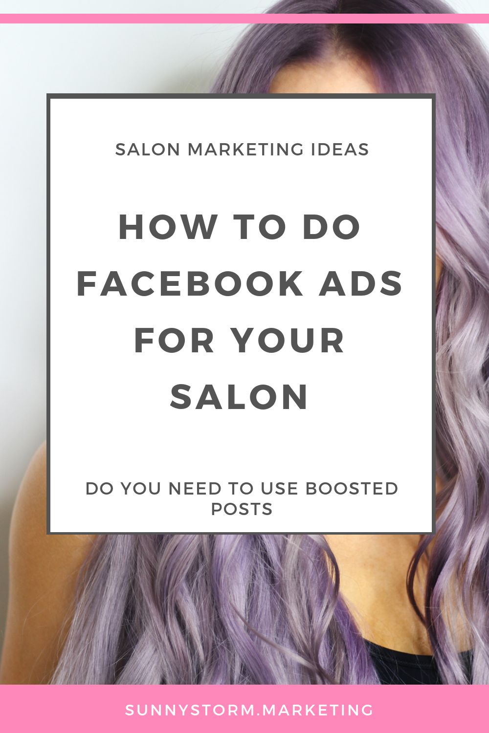 "Should your salon use ""boosted posts"" to get clients on Facebook"