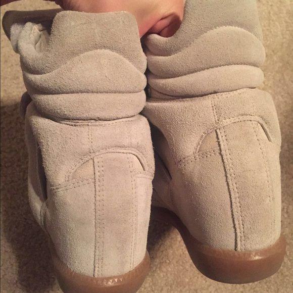 Isabel Marant Cream/Beige Bekett EXTRA PICTURES - See original listing Isabel Marant Shoes