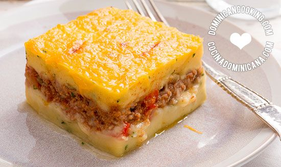 Pastelon De Papas Receta Y Video De Un Plato Hermoso Y Sabroso Recipe Recipes Papa Recipe Food