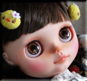 basara ※ Custom Blythe ★ Grape sister ★  Buy her here:   #blythe #blythedolls #kawaii #cute #rinkya #japan #collectibles #neoblythe #customblythe