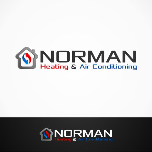 Norman Heating Air Conditioning Create An Awesome Logo For