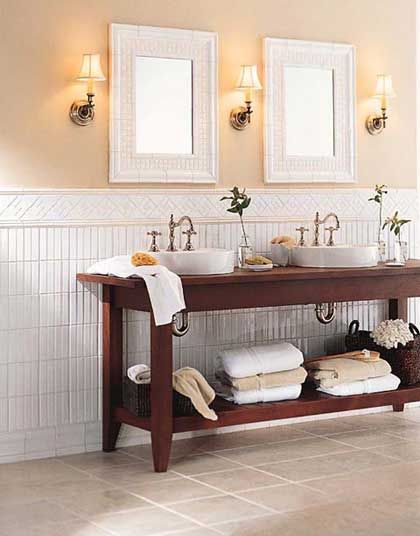 Choosing The Best Tile: Bathroom Tile Style Options. Helpful Ideas To Help  You Choose The Right Bathroom Tile: Mosaic, Glass, Stone And More Options.