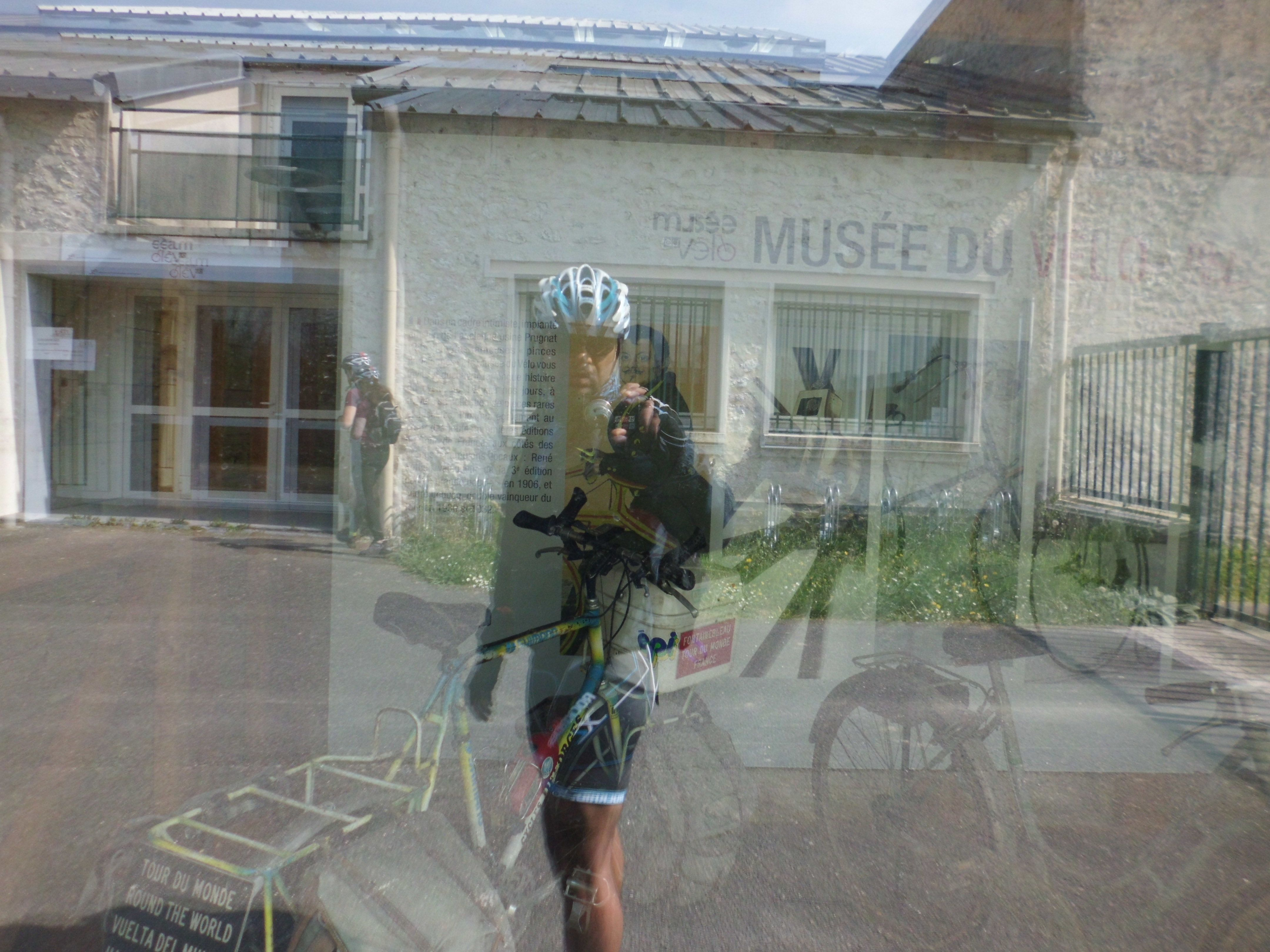 cycle museum at Moret-sur-Loing