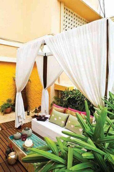 Balcony Design By Sandesh Prabhu Interior Designer In India