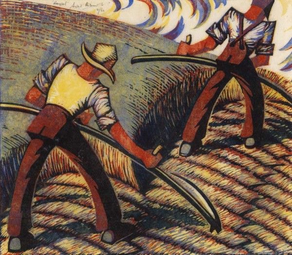 SYBIL ANDREWS (1898-1993) Haysel (England)