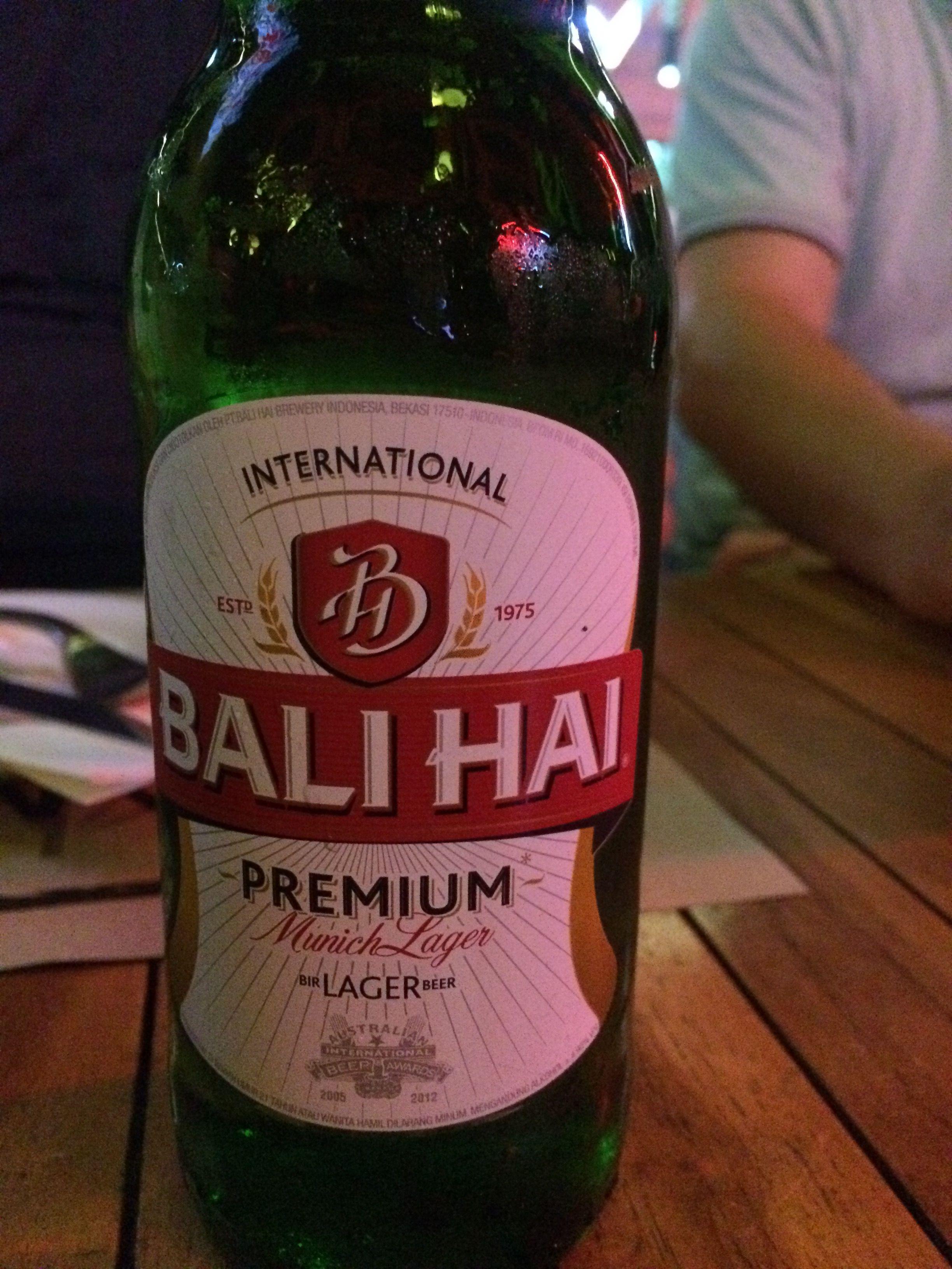Bier Uit Bali Bali Hai Beer Bali Wine Bottle