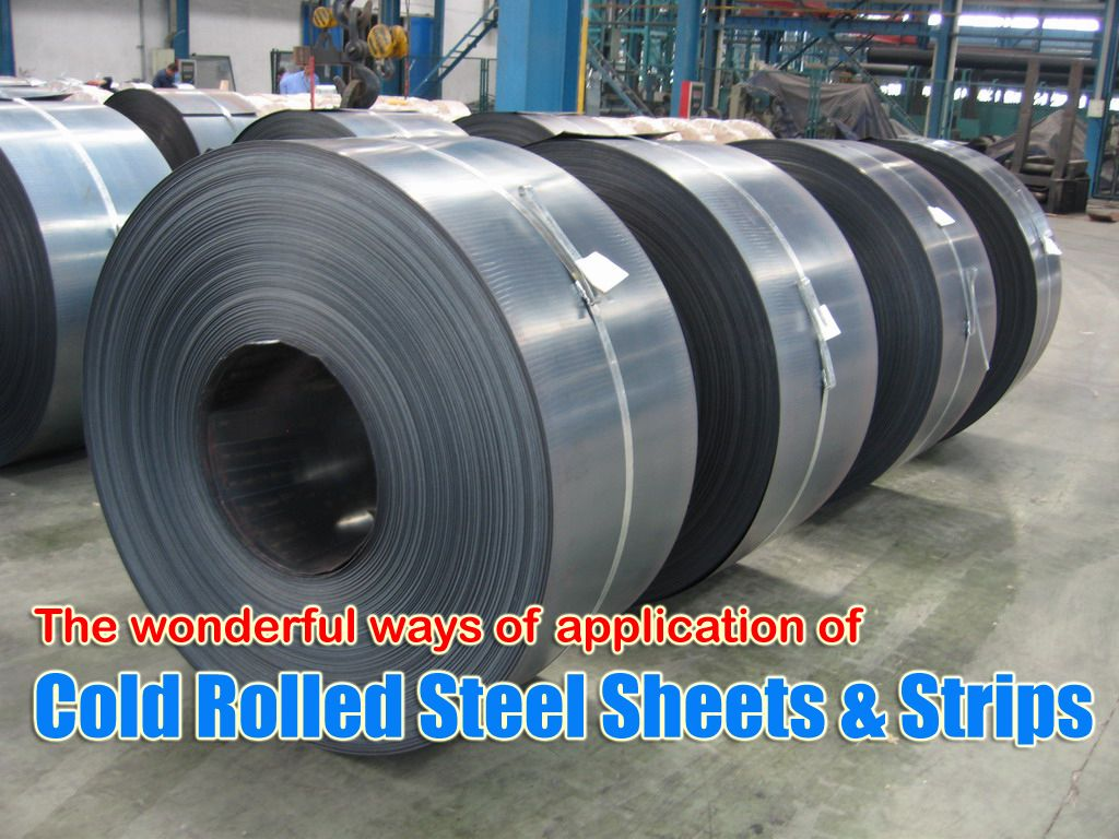 Cold rolled steel sheets strips and plates manufacturing