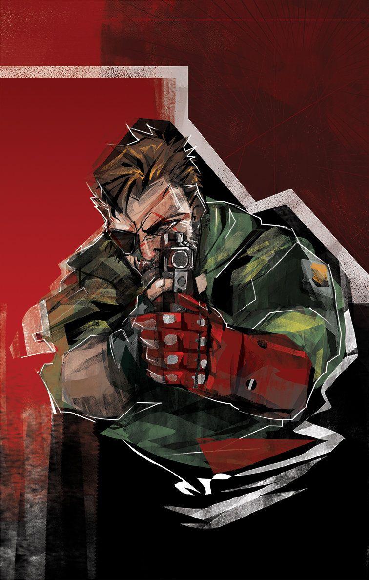 ArtStation - [FAN ART] Metal Gear Solid 5 - The Phantom Pain - Big Boss, Tony Seunghoon Yeom