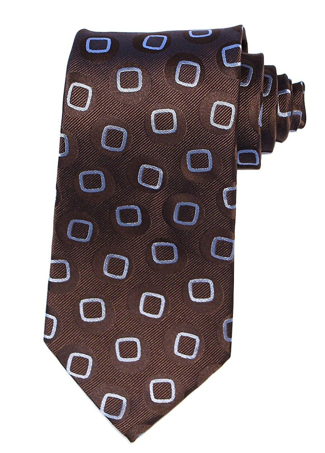 DW Tennant Doctor Brown Necktie (Brown) Pure products