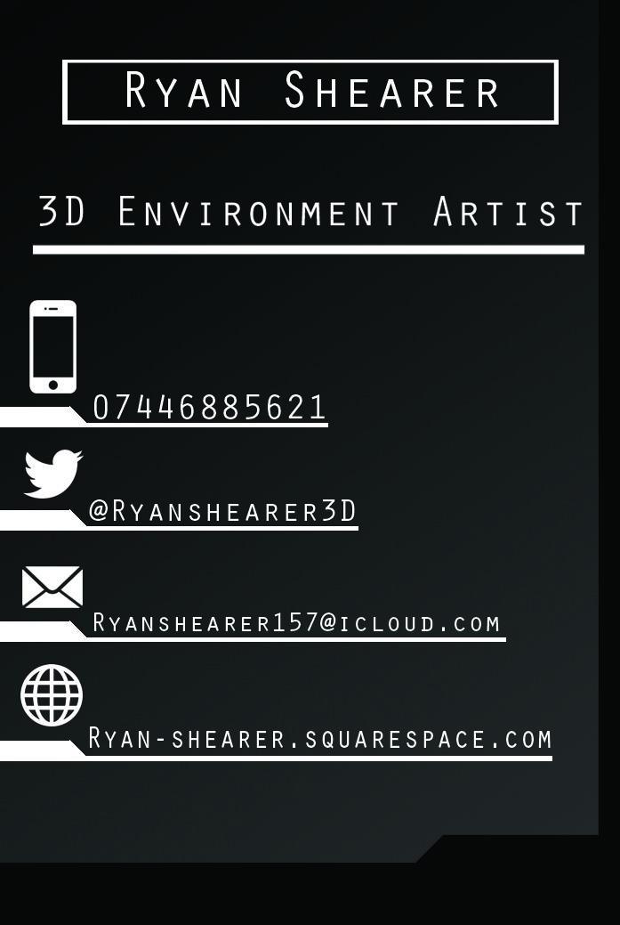 Image result for 3d artist business card | Personal Logo Design ...